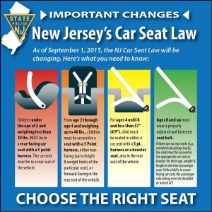 child safety laws, seatbelt law